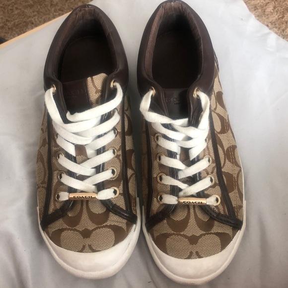124b26c386f43 Brown Coach shoes